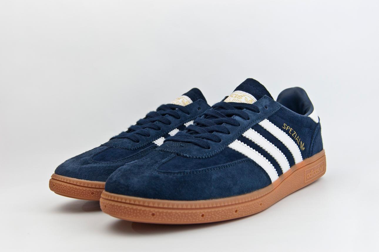 кроссовки Adidas Spezial Navy / Gum ftwr