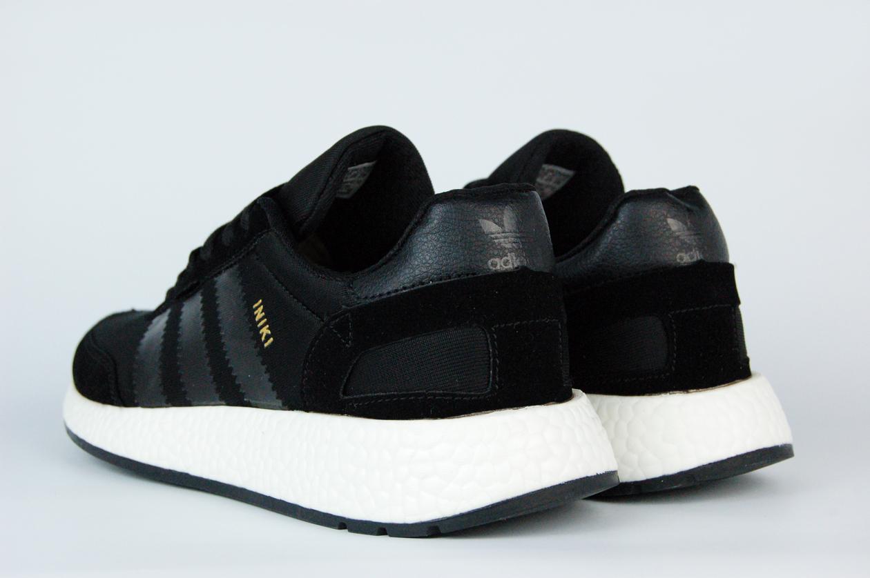 кроссовки Adidas Iniki Runner Boost Black / Black