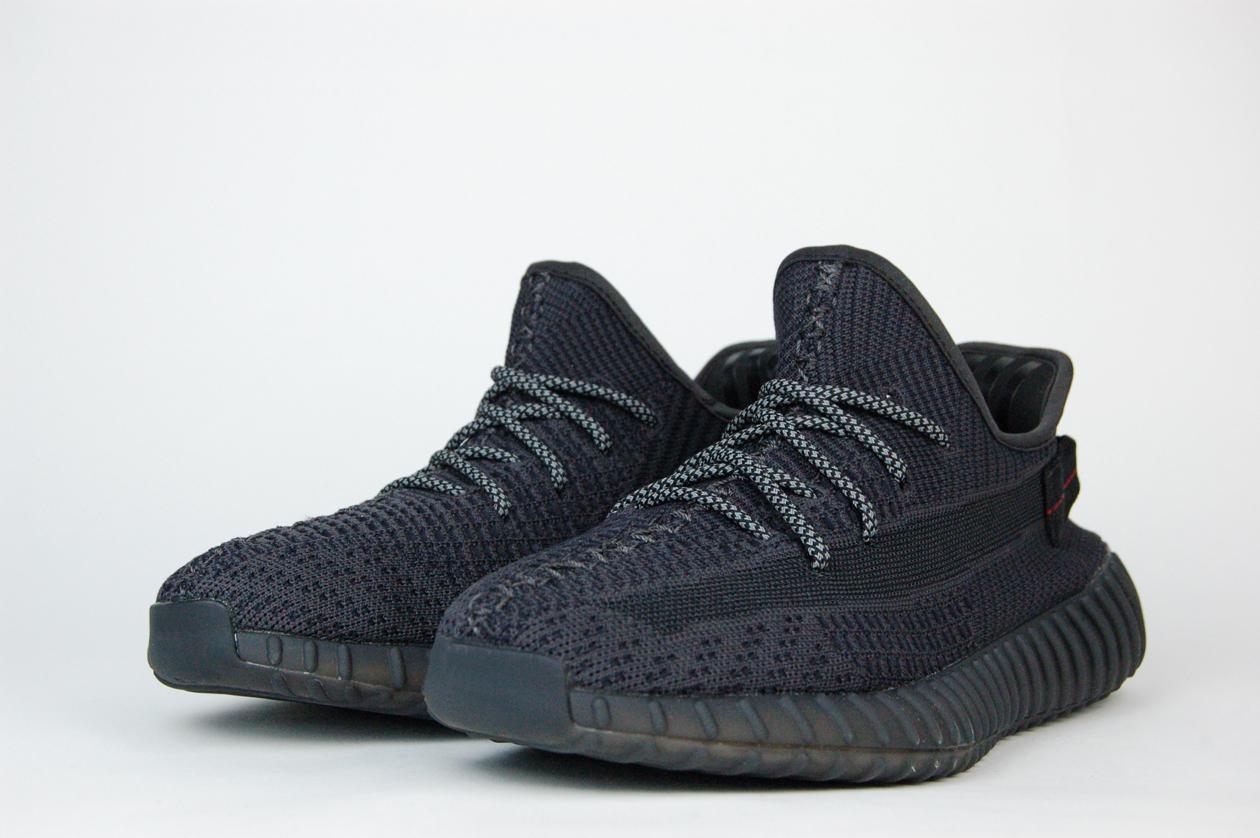 кроссовки Adidas Yeezy 350 boost v2 Triple Black
