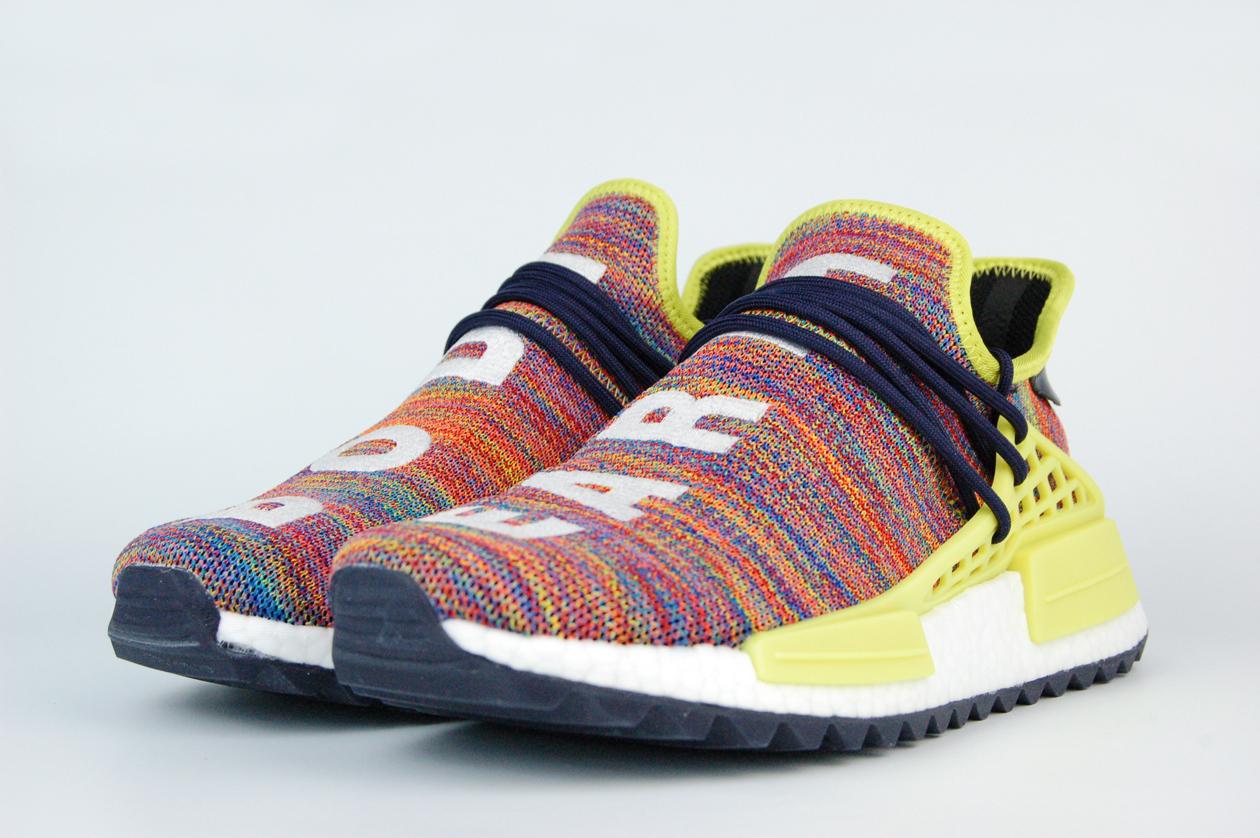 кроссовки Adidas Nmd X Pharrell Williams Human Rac