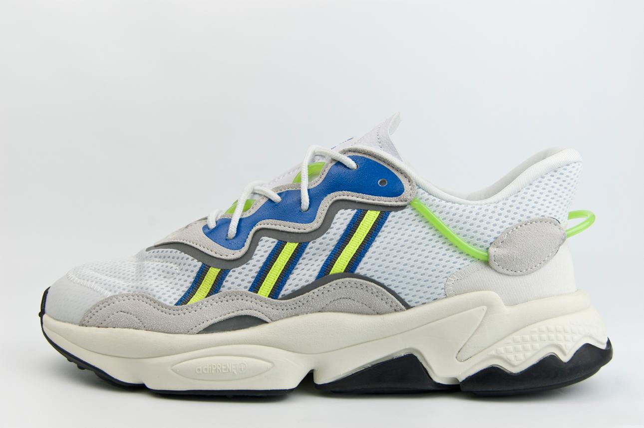 кроссовки Adidas Ozweego AdiPRENE White / Solar Ye