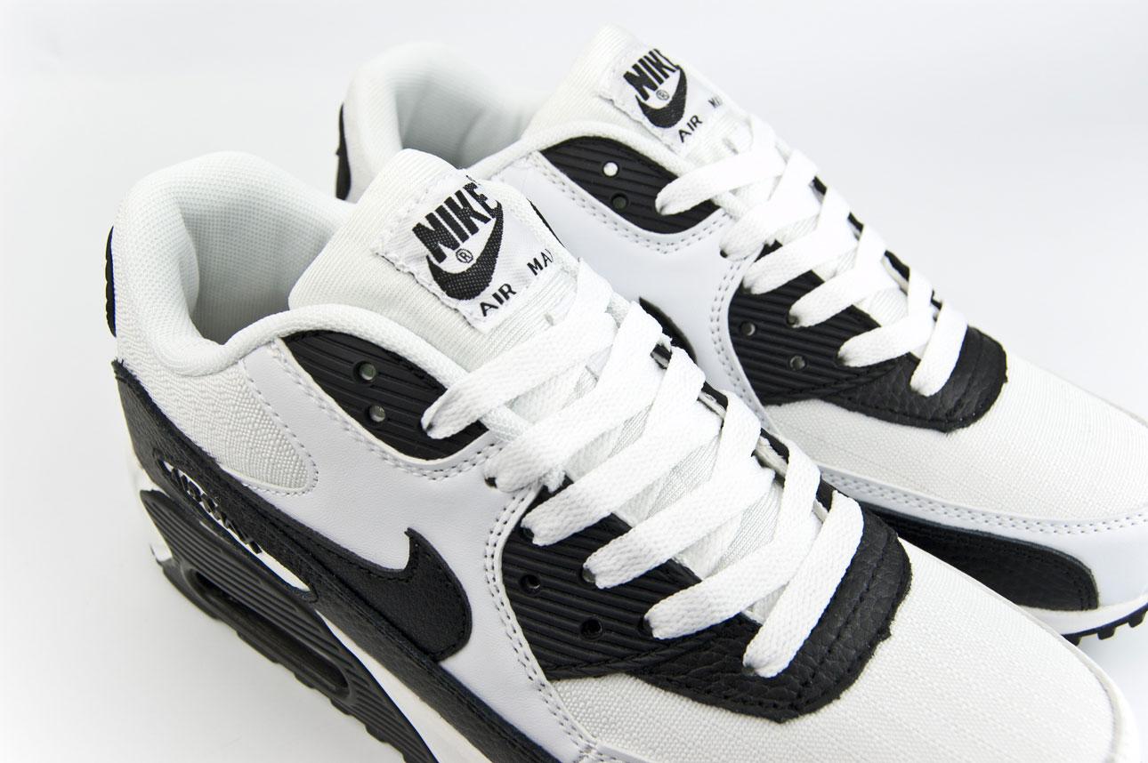 кроссовки Nike Air Max 90 White / Black
