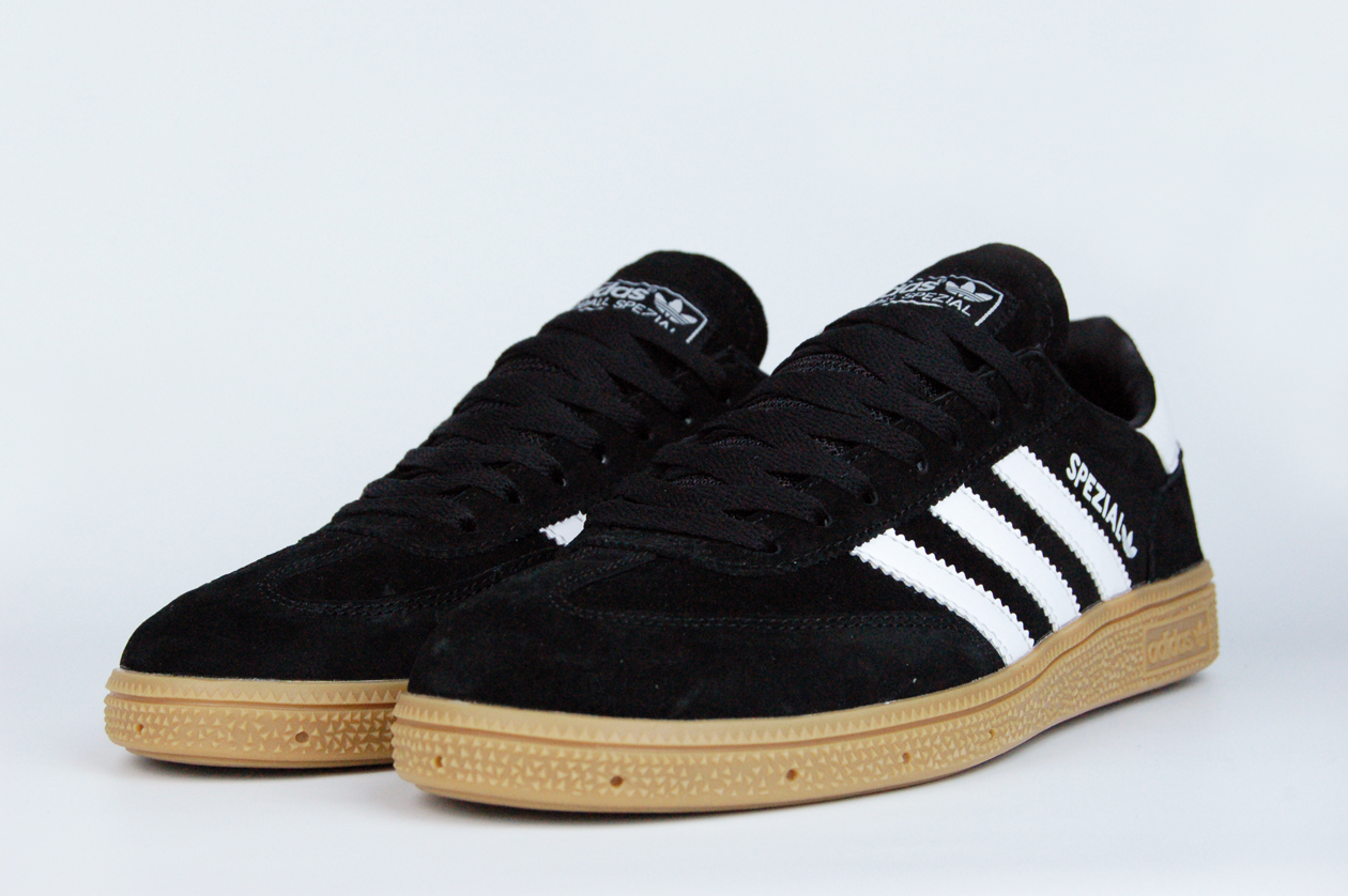 кроссовки Adidas Spezial Black / Gum