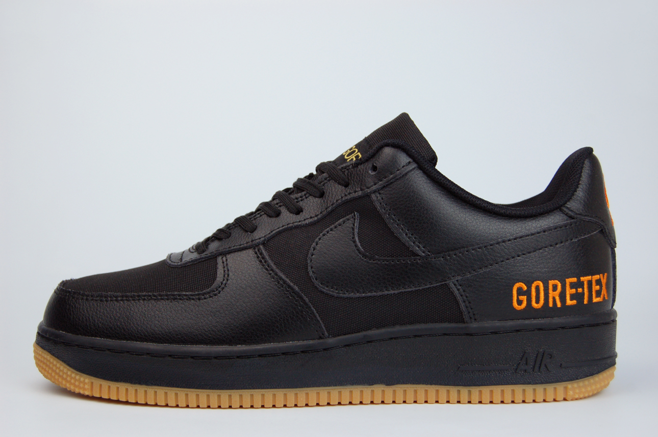 кроссовки Nike Air Force 1 Low Gore-tex Black / Gu