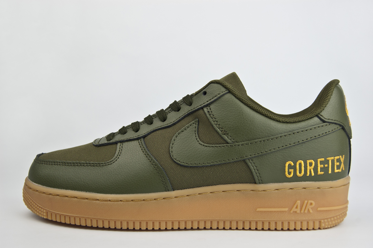 кроссовки Nike Air Force 1 Low Gore-tex Green / Gu