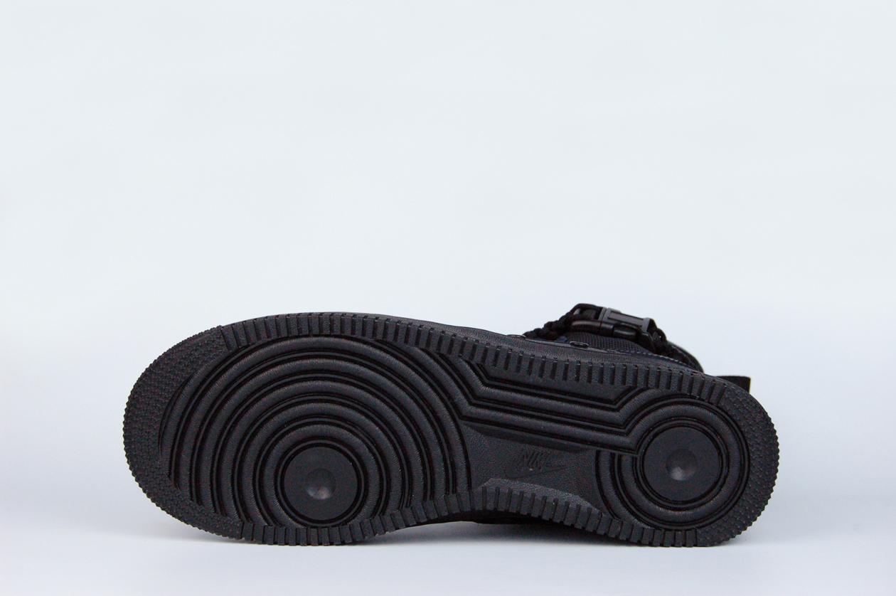 кроссовки Nike SF Air Force 1 High Triple Black