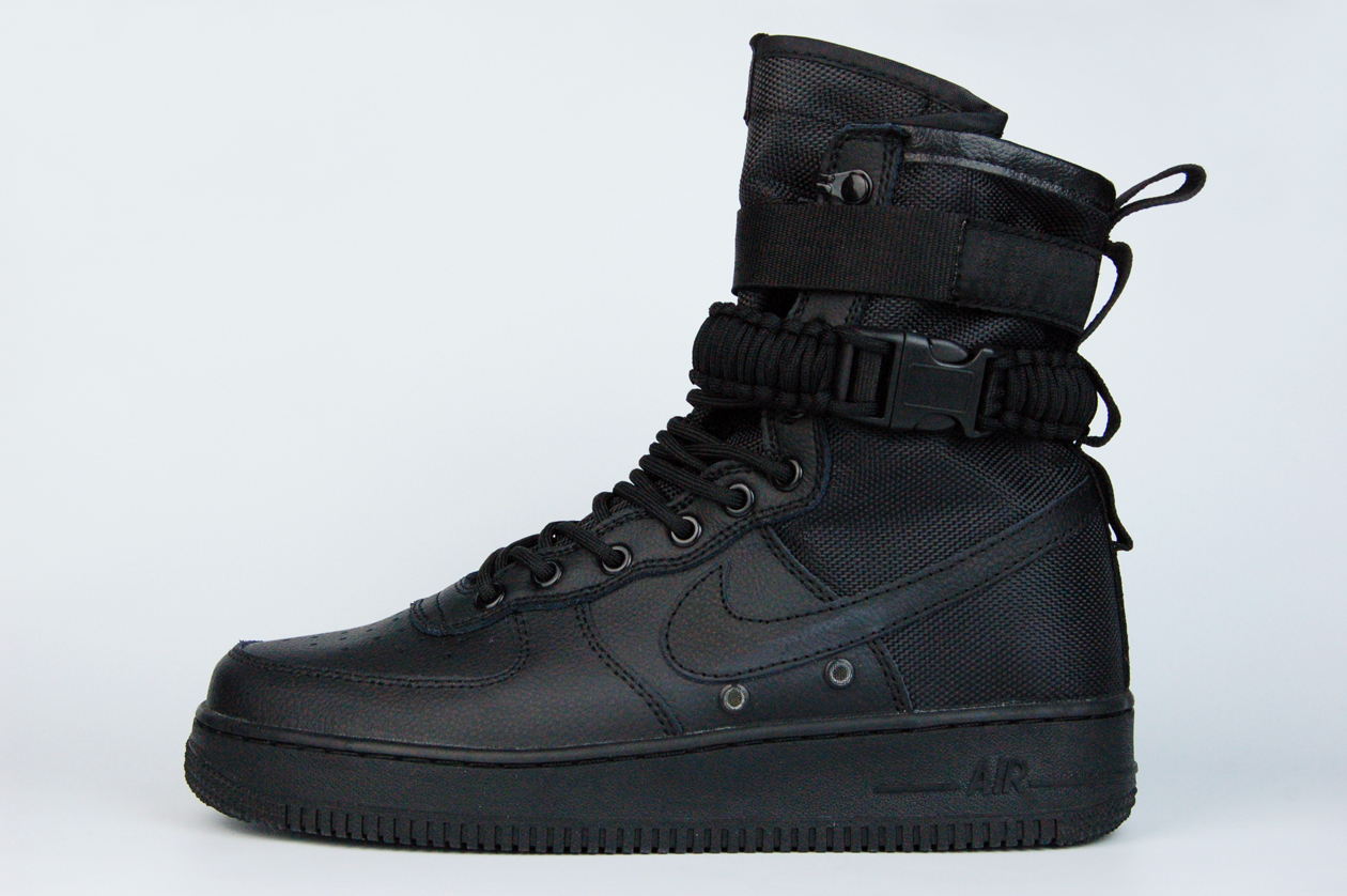 кроссовки Nike SF Air Force 1 High Triple Black