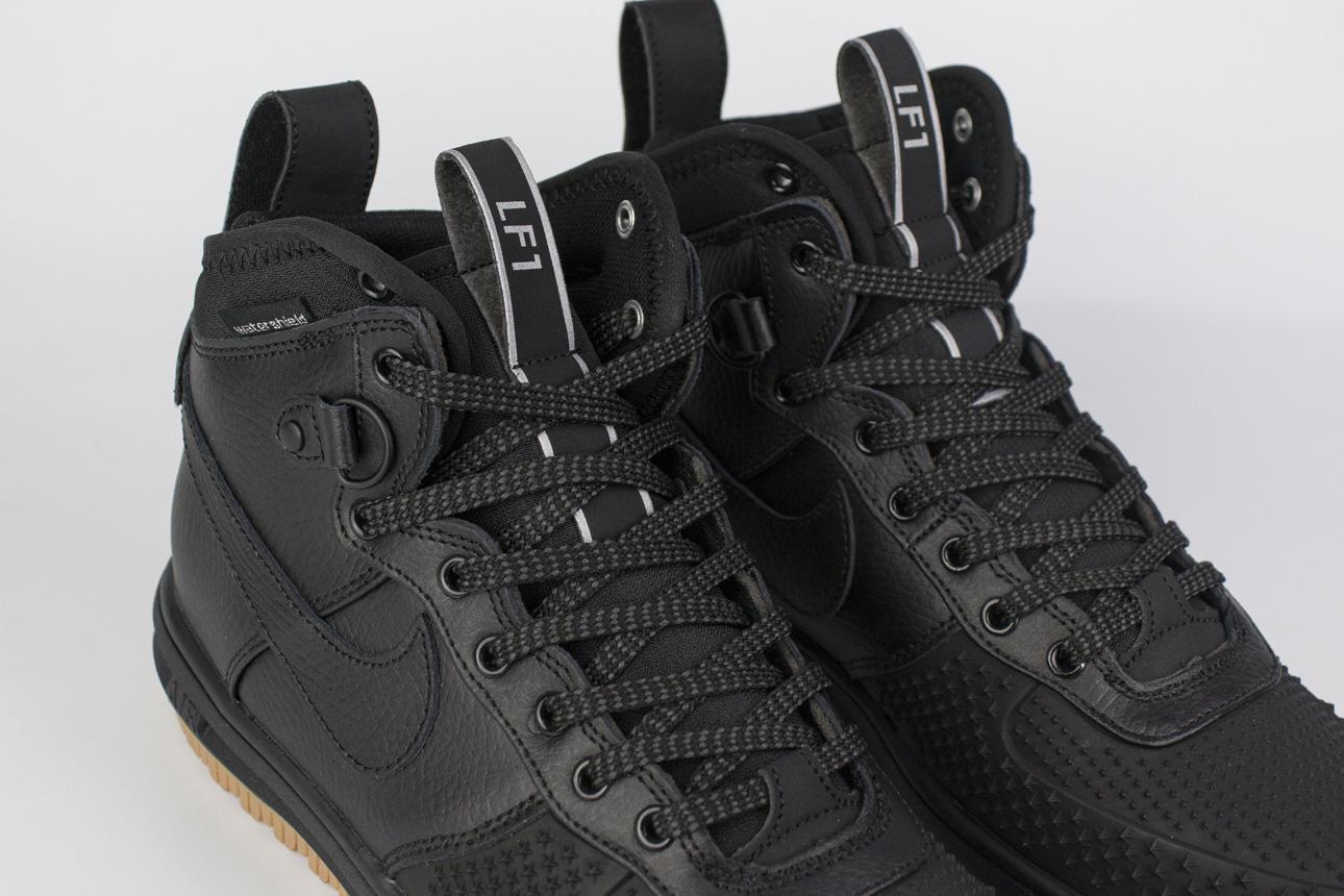 кроссовки Nike Lunar Force 1 Duckboot Black Gum