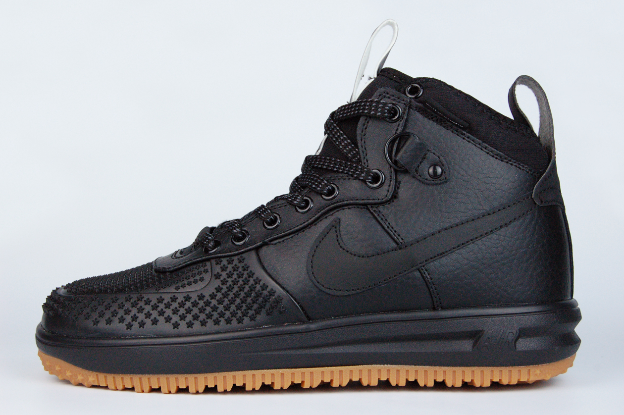 кроссовки Nike Lunar Force 1 Duckboot Black Gum