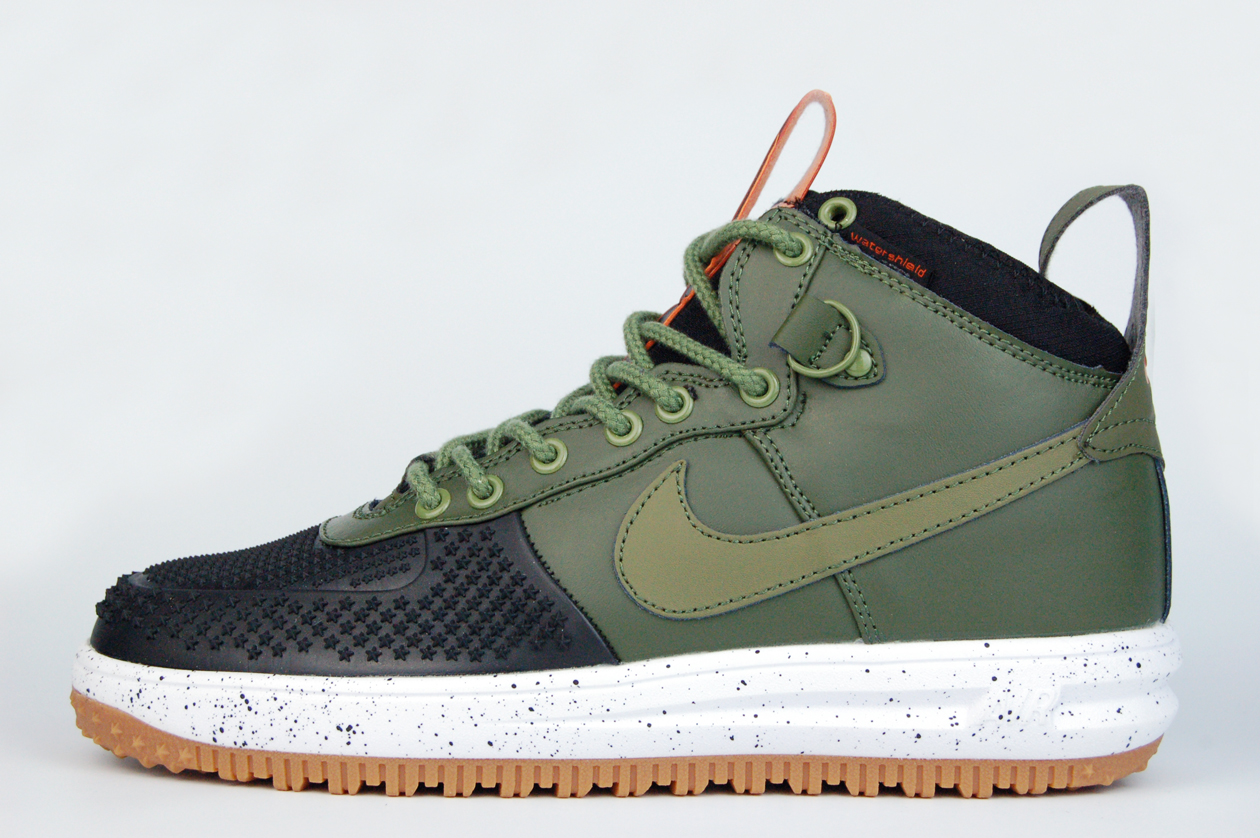кроссовки Nike Lunar Force 1 Duckboot Green Black