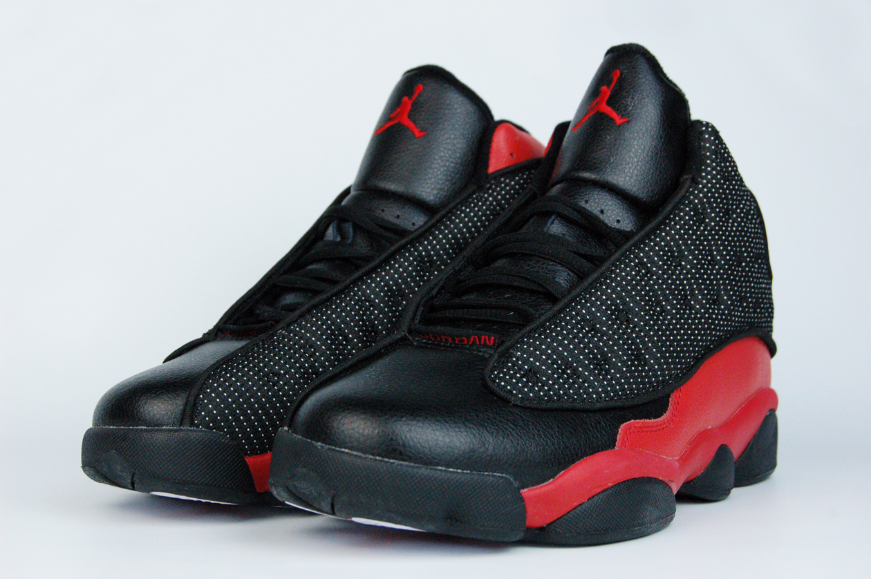 кроссовки Nike Air Jordan 13 Retro Bred