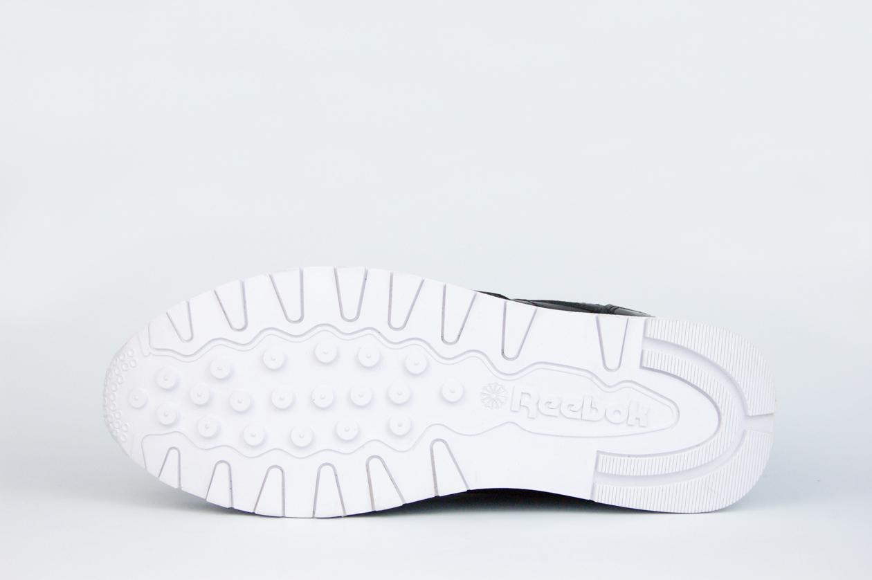 кроссовки Reebok Classic Leather Lux Black / White
