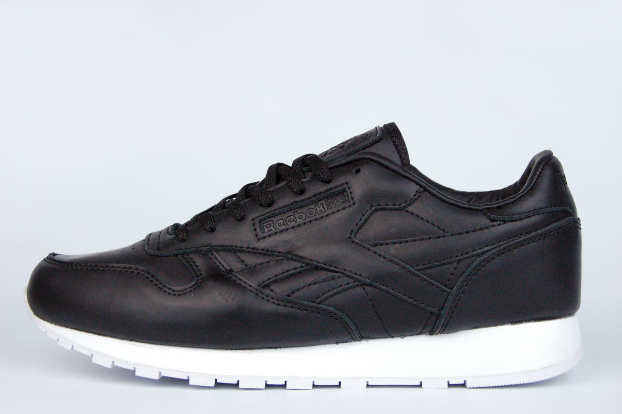 кроссовки Reebok Classic Leather Lux Black / White
