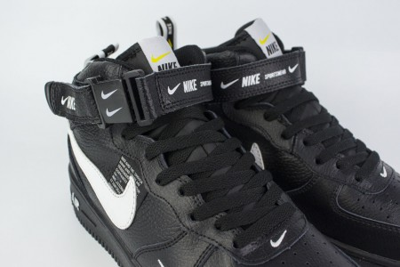 Кроссовки Nike Air Force 1 Mid 07 lv8 Triple Black